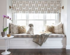New 2015 Paint Color Ideas ~ I want this in my den ~ I have the window seat already
