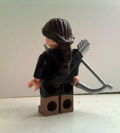 Little Katniss in Lego form!