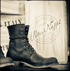rugged boots black