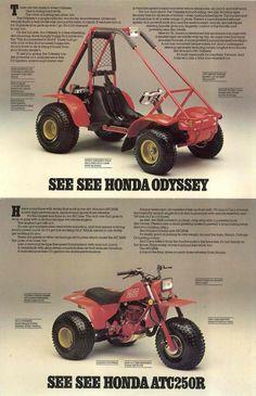 1982 Honda ATC250R / FL250 Brochure (CA)