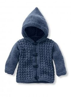 Mag 182 n 36 Hooded vest Models embroidery amp knitting Buy online Baby Cardigan Knitting Pattern Free, Baby Boy Knitting Patterns, Cardigan Pattern, Knit Baby Sweaters, Knitting Blogs, Knitting Ideas, Hooded Cardigan, Barn, Baby Boys