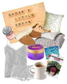 """Sweet Dreams Tonight"" by igamine ❤ liked on Polyvore featuring H&M, Bobbi Brown Cosmetics, Nemesis, Victoria's Secret and UGG Australia"