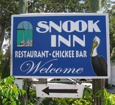 The Snook Inn is right on the water in Marco Island, FL. Live Bands along with great cocktails and food.