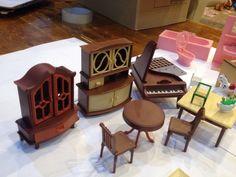 "Vintage West Germany Jean dolls house Set - Dolls Very Rare 60""/70 | eBay"
