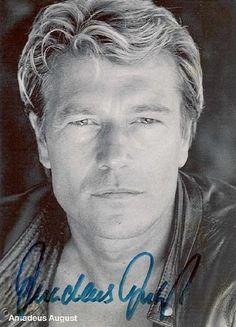 Amadeus August (* 6. Mai 1942 in Breslau; † 6. Juli 1992 in München) war ein deutscher Schauspieler.