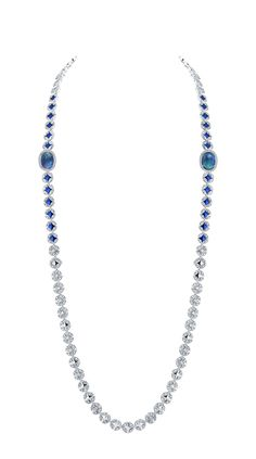 Louis Vuitton's Voyage dans le Temps Galaxie Monogram convertible necklace in white gold, with of opals, blue ceramic dust and diamonds. High Jewelry, Opal Jewelry, Diamond Jewelry, Jewelry Accessories, Jewelry Design, Bijoux Louis Vuitton, Collection Louis Vuitton, Jewelry Illustration, Soldering Jewelry