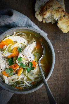From The Kitchen: Old-Fashioned Chicken Noodle Soup