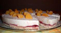 Osvěžující broskvový dort nepečený