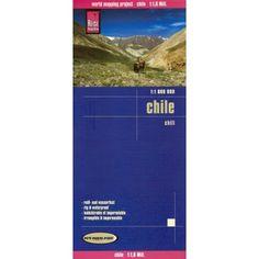 R$47.26  Mapa impermeável - Chile