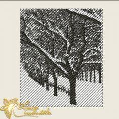 """фотостежок  """"зима""""  http://beloshveyka.net/dizajny-mashinnoj-vyshivki #beloshveyka #embroidery #designs"""