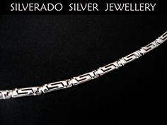 Sterling Silver 925 Ancient Greek Eternity by SilveradoJewellery