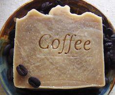 Coffee Butter Shampoo Bar with Jojoba  Vegan by AquarianBath