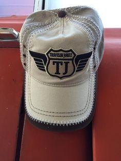 Baseball Cap with Travelin Jonez Logo Patch