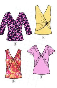 Cosa suéteres y camisetas con diferentes tejidos en forma de página web! Cinco opciones para un patrón.! Comentarios: LiveInternet - Russian servicios en línea Diaries
