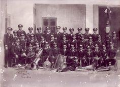Unió Artístico Musical Sant Francesc de Borja - Banda de Gandia. Foto datada entre 1931 y 1932.