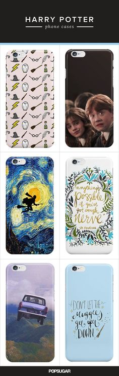Looking for a new phone case for your new iPhone? These Harry Potter cases are pretty wicked!