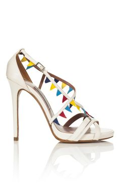 Tabitha Simmons Pennant Sandal