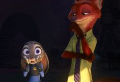 The way Nick looks at Judy, he definitely has something for her