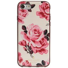 Women's Kate Spade New York Rosa Iphone 7 Case ($40) ❤ liked on Polyvore featuring accessories, tech accessories, pink sand multi, kate spade iphone case, kate spade, iphone cases, iphone hard case and apple iphone case