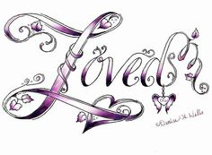 Loved Tattoo Design by Denise A. Wells by ♥Denise A. Wells♥, via Flickr