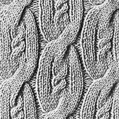 Knitting Pattern Square No. 1, Volume 34 | Free Patterns | Yarn
