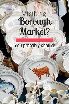 Visiting London? You should go to Borough Market and enjoy ALL of the food!