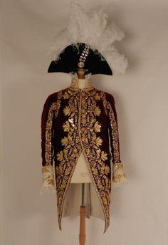 Petite tenue du sacre de l'Empereur