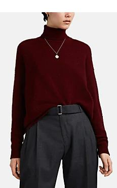 Classic Outfits For Women, Anthony Thomas, Cashmere Turtleneck, Sweater Design, Barneys New York, Designing Women, Turtle Neck, Clothes For Women, Red