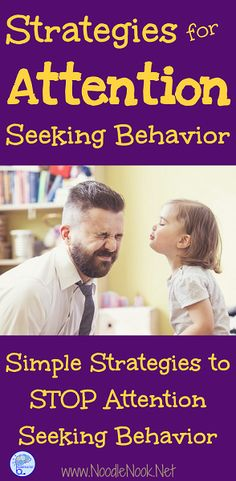 Attention behaviors got you frustrated? Here are simple to implement strategies for attention seeking in the classroom...