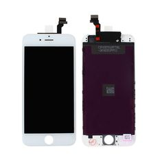 "nice For iPhone 6 4.7"" cell phone White LCD Display + Touch Screen Digitizer Replacement Repair Frame Assembly New 100%"