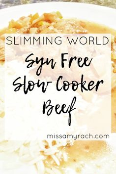 Onlineimmingworld downloads yourfoodoptimisingpdfpdf slimming world recipe syn free slow cooker beef some say that the first tentative forumfinder Choice Image