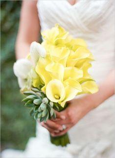 #Yellow #wedding #bouquet by Whiteazalea