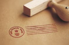 Logo and stamp detail created by Designers Anonymous for Fuller's flagship Kings Cross Station pub The Parcel Yard