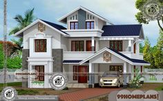 Modern House Designs in India 60+ Small Two Story House Floor Plans Free House Plans, Small House Floor Plans, Simple House Plans, Beautiful House Plans, Home Design Floor Plans, Modern Small House Design, House Front Design, Indian House Plans, House Design Pictures