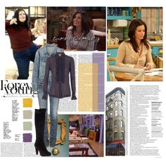 Monica Geller (Courtney Cox), created by javarmo on Polyvore