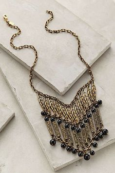 Viola Fringe Necklace