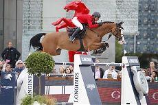Paris 2014 Gallery - LONGINES GLOBAL CHAMPIONS TOUR - Grand Prix Silver medallist Pius Schwizer and Toulago