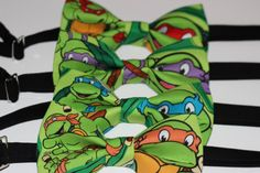 Hey, I found this really awesome Etsy listing at https://www.etsy.com/listing/177235496/teenage-mutant-ninja-turtles-bow-tie