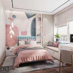 Luxury Bedroom Design, Room Design Bedroom, Girl Bedroom Designs, Small Room Bedroom, Room Ideas Bedroom, Home Room Design, Home Bedroom, Bedroom Decor, Luxury Kids Bedroom