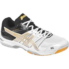 ae238a974fd7 ASICS Men s B405N Gel-Rocket 7 in White Silver Black  56.65 · Volleyball ShoesAsics  MenTennisSports