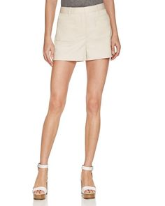 Theory Calila Stretch Cotton Shorts - 100% Bloomingdale's Exclusive