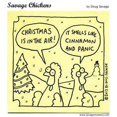 Savage Chickens by Doug Savage for Dec 21, 2017 | Read Comic Strips at GoComics.com