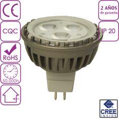 Bombilla LED Dicroica 6W MR16