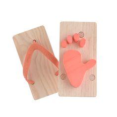 Kids Kiko+™ ashiato animal footprint toy sandals via Crew Cuts/J Crew