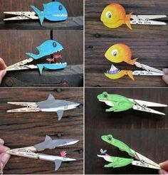 You can use any animal craft as a tool to tell your children an inspirational story that they'd get inspired by. Do you know what's your children favourite animal crafts? Easy Crafts, Diy And Crafts, Arts And Crafts, Paper Crafts, Diy For Kids, Crafts For Kids, Animal Crafts, Activities For Kids, Projects To Try