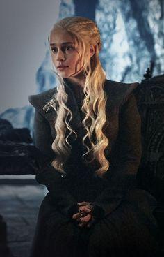Daenerys at Dragonstone.