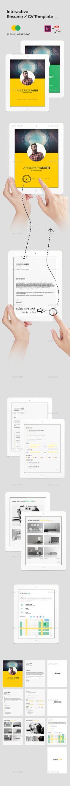 Event Organizer Resume Cv template, Creative resume templates - interactive resume template