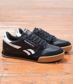 9025cc4f43758 Reebok Phase 1 Pro  Black White Sneaker Boutique