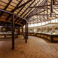 The Lapa Restaurant at Protea Hotel Kruger Gate Rhino Poaching, Hotel Branding, Luxury Accommodation, Continents, South Africa, Gate, National Parks, Restaurant, Portal