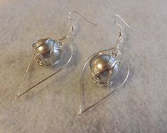 homemade earrings - Google Search